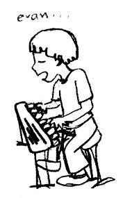 Evan Hamilton piano cartoon