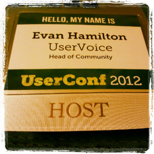UserConf badge