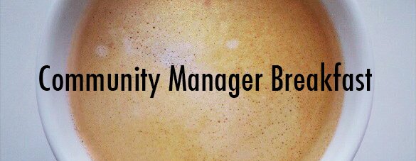 community manager breakfast header